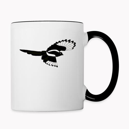 Magpie Bird Songbird Gaai Nature Forest - Mug contrasté