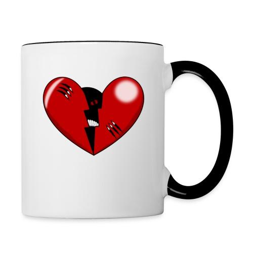 CORAZON1 - Contrasting Mug