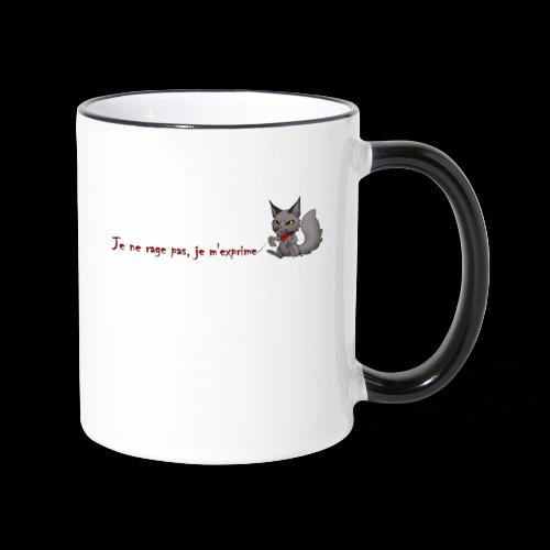 RavenWolfire Design - Mug contrasté