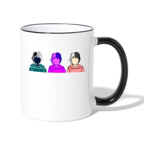 Nao Drei - Tasse zweifarbig