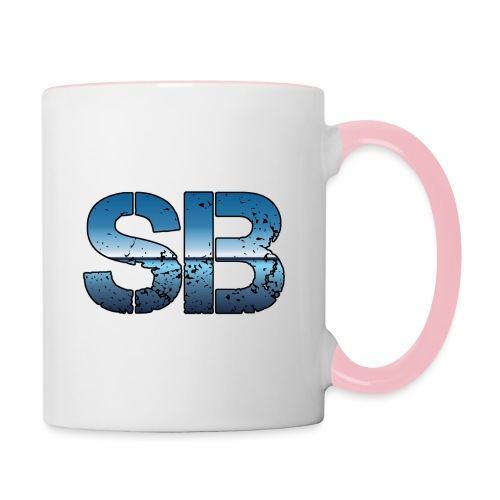 SB Logo - Tofarvet krus