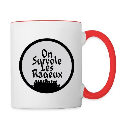 onsurvolelesrageux - Mug contrasté