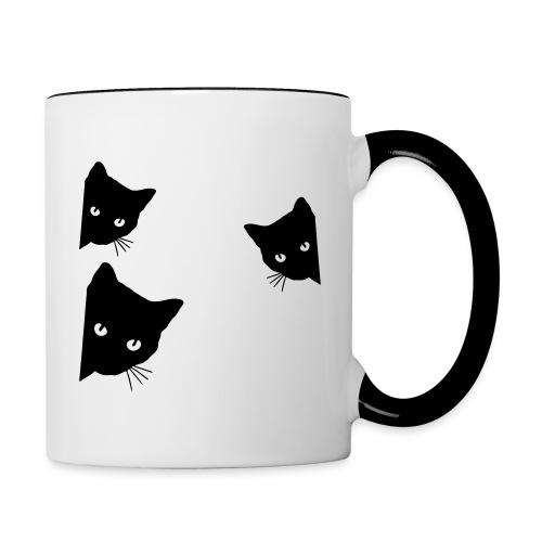 Vorschau: cats - Tasse zweifarbig