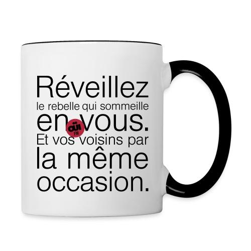 Rebelle - Mug contrasté