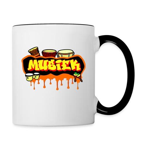 MUSIEK 2 - Mug contrasté