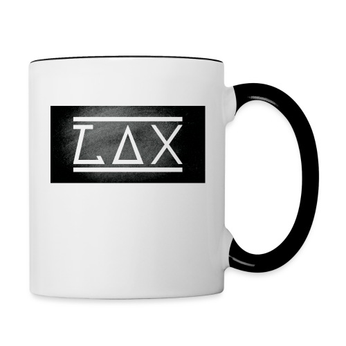 LAX LOGO COLOR BLACK/WHITE - Tasse zweifarbig