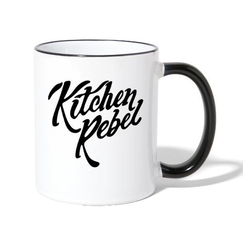 Kitchen Rebel - Contrasting Mug