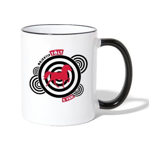 Objectif Tölt & fun (MT5) - Mug contrasté