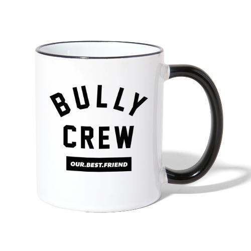 Bully Crew Letters - Tasse zweifarbig