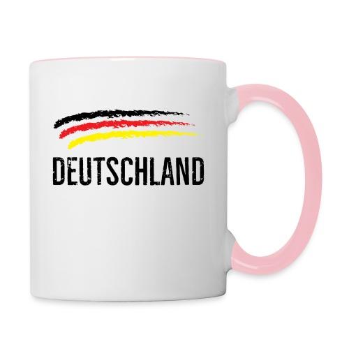 Deutschland, Flag of Germany - Contrasting Mug