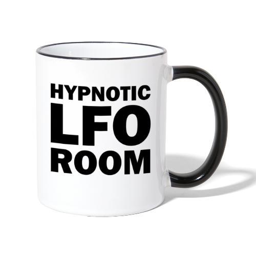 Hypnotic LFO Room Logo - Contrasting Mug