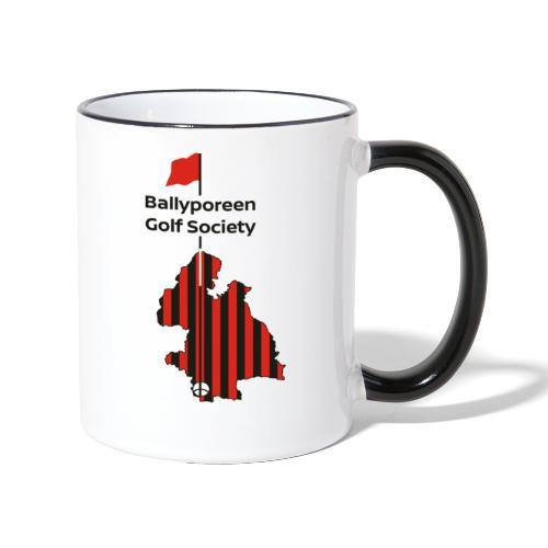 Ballyporeen Golf Society - Contrasting Mug