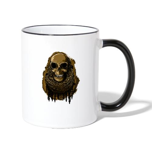 Skull in Chains YeOllo - Contrasting Mug
