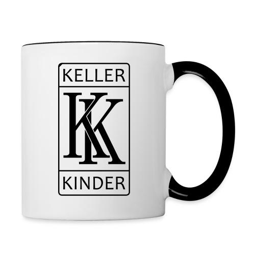 kk logo vektor - Tasse zweifarbig