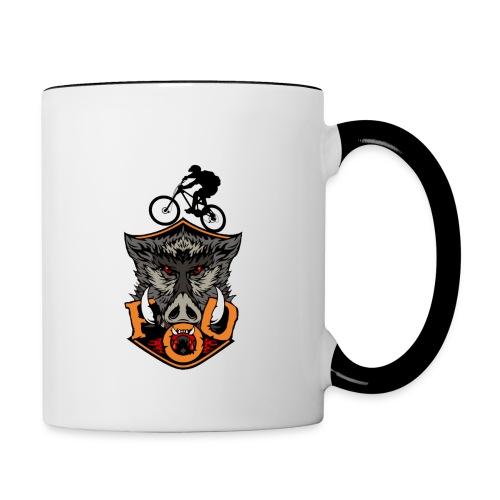 FoD Boar new 3 png - Contrasting Mug