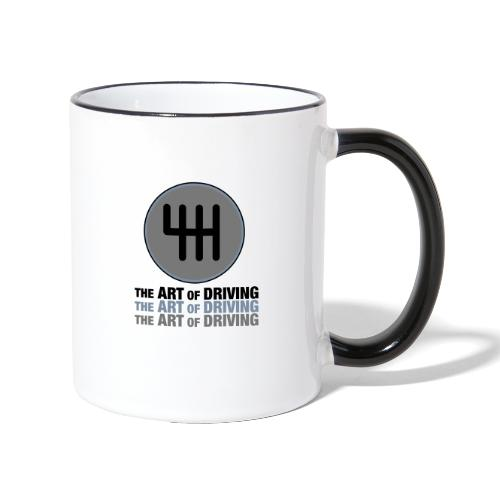 The Art of Driving Gear Nob - Contrasting Mug