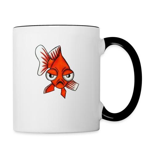 Angry Fish - Mug contrasté