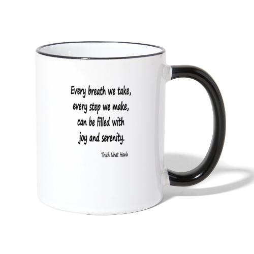 24/7 Peace - Contrasting Mug