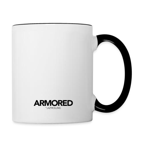 ARMORED BLACK LOGO - Contrasting Mug