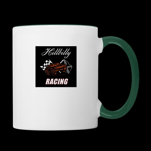 Hillbilly racing merchandise - Mok tweekleurig