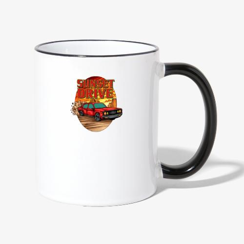 Sunset Drive - Mug contrasté