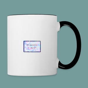 MY SUPERPOWER IS ANXIETY - Contrasting Mug