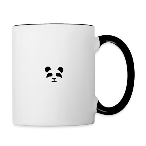 Oso Panda - Taza en dos colores