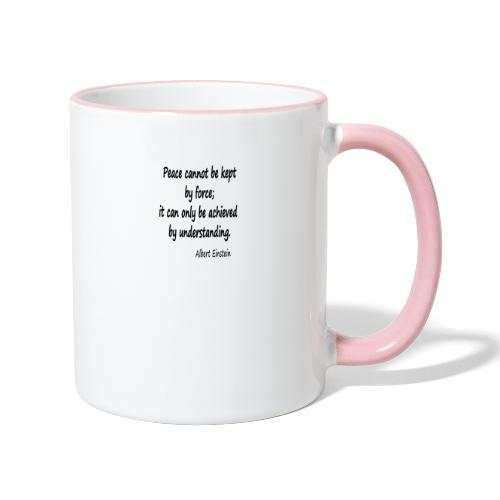 Achieve Peace - Contrasting Mug