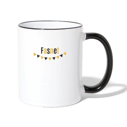 Fasnet - Tasse zweifarbig