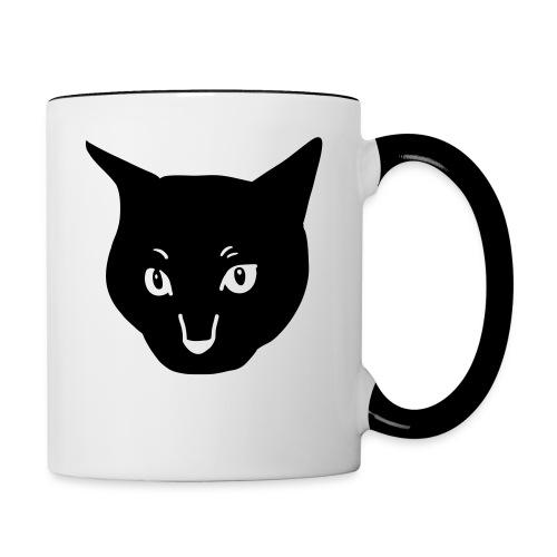 Black Cat - Contrasting Mug