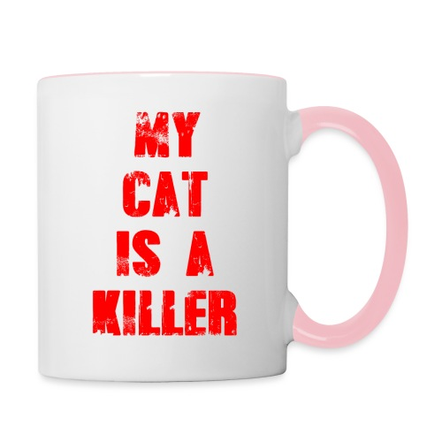 My Cat is a Killer - Tasse zweifarbig