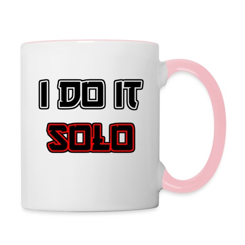 I Do It Solo - Tasse zweifarbig