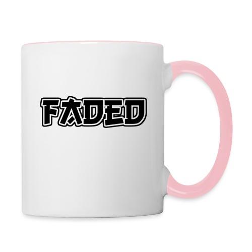 Faded - Tasse zweifarbig