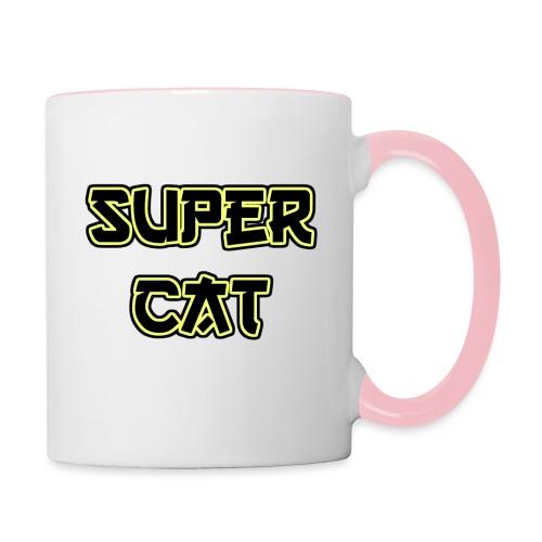 Super Cat - Tasse zweifarbig