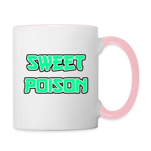 Sweet Poison - Tasse zweifarbig