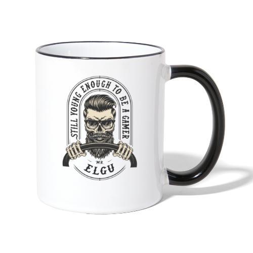 MrElgu Logo DARK - Mug contrasté
