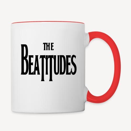 THE BEATITUDES - Contrasting Mug