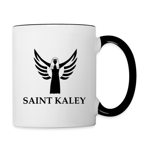 SaintKaley Logo Black - Tasse zweifarbig