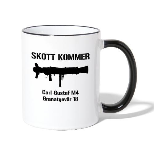 Skott Kommer CGM4 - Tvåfärgad mugg