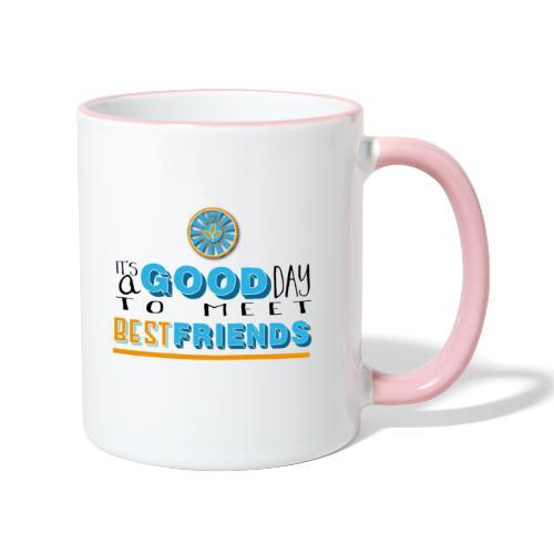 Good Day - Tasse zweifarbig