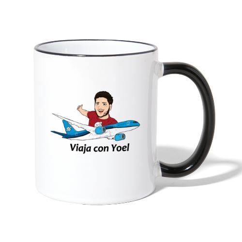 Frequent Flyer Red Viaja con Yoel - Taza en dos colores