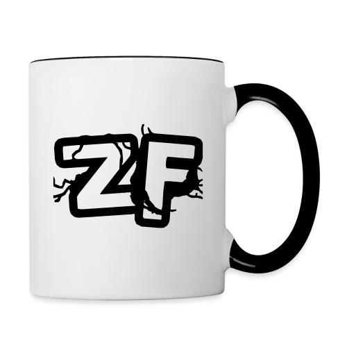 Zckrfrk BLACK Edition - Tasse zweifarbig