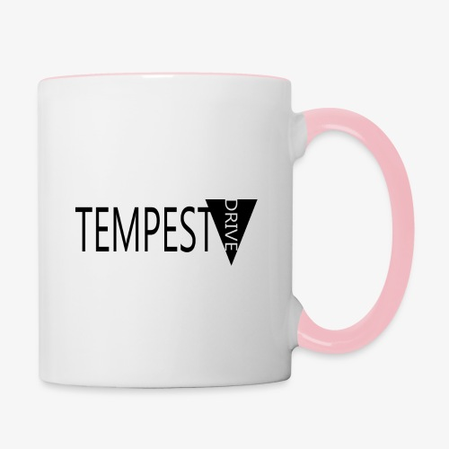 Tempest Drive: Full Logo - Tofarvet krus