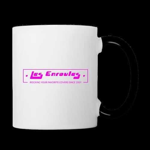 Rocking since 2001! Pink - Mug contrasté