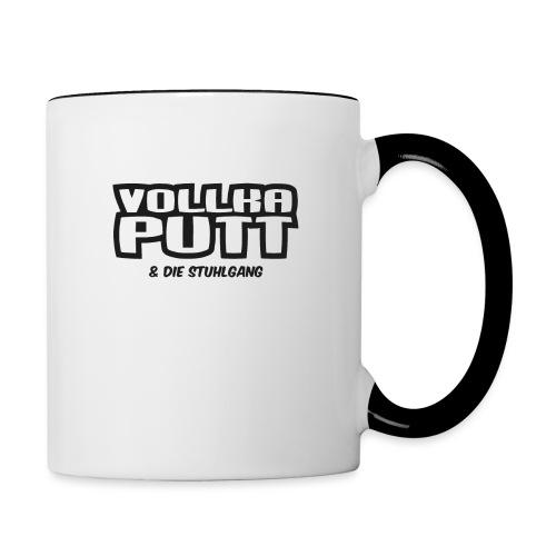 Vollka Putt & Die Stuhlgang - Tasse zweifarbig