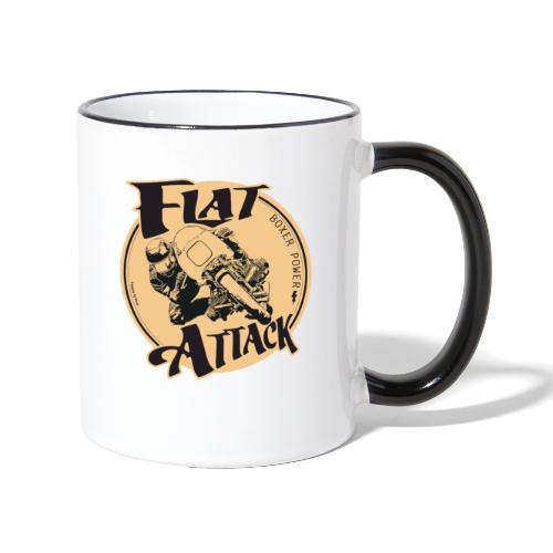 N 179 FLAT ATTACK 2 - Mug contrasté