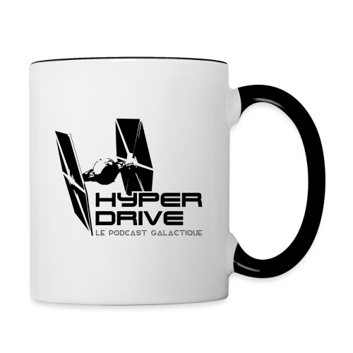 Hyperdrive - logo galactique - Mug contrasté