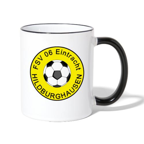 Hildburghausen FSV 06 Club Tradition - Tasse zweifarbig