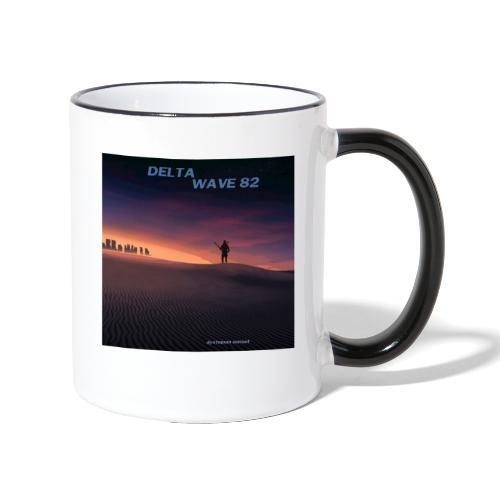 Delta Wave 82 - Dystopian Sunset - Kaksivärinen muki