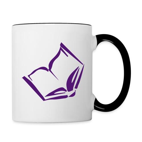 bookjunkie - Tasse zweifarbig